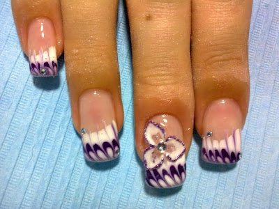 flower designs for nails. flower designs for nails.