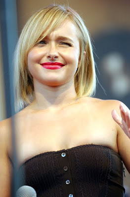hayden panettiere new hair cut