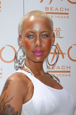 AmberRose - Make up of the day 26 Feb 10