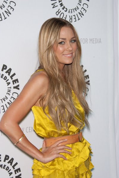 Hair color and highlighting is part of the success to Lauren Conrad's