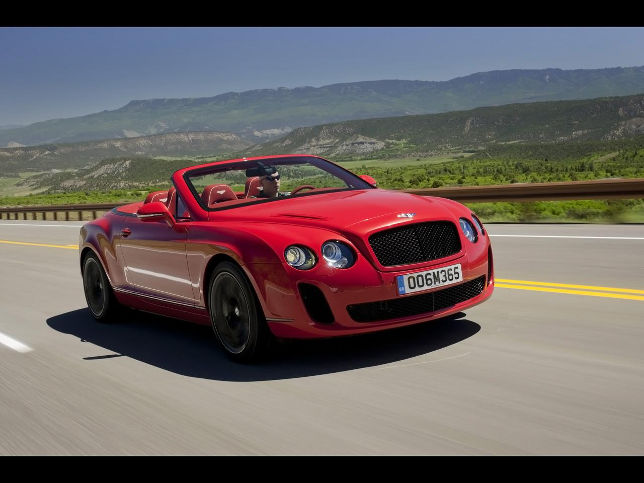 ... 2010 Bentley Continental Supersports Convertible Wallpapers