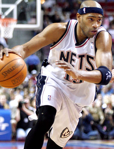vince carter dunk nets. 9) Vince Carter