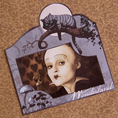 Alice In Wonderland Photo Frame Printable Photo 420 Fs IMG