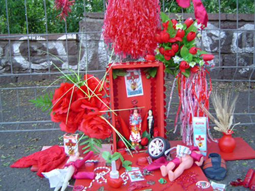 altar gauchito , berlin