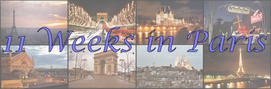 11 Weeks in Paris