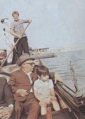 Με τον εγγονό του στη Βενετία
