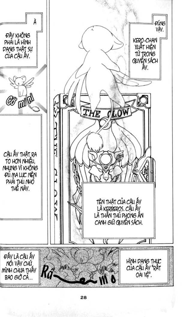 Card Captor Sakura – Thủ Lĩnh Thẻ Bài chap 1 Trang 26