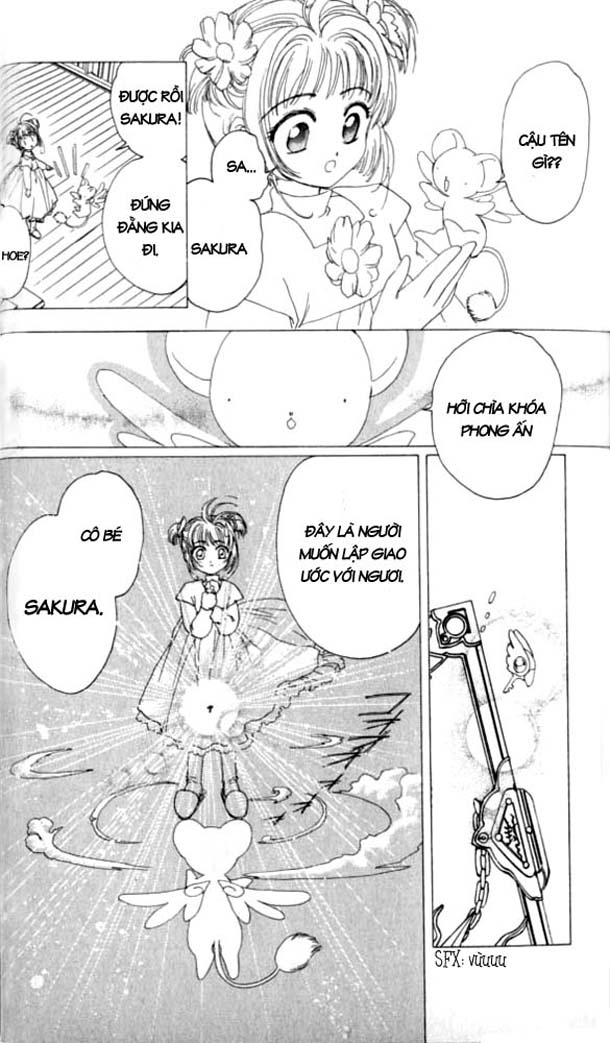 Card Captor Sakura – Thủ Lĩnh Thẻ Bài chap 1 Trang 32