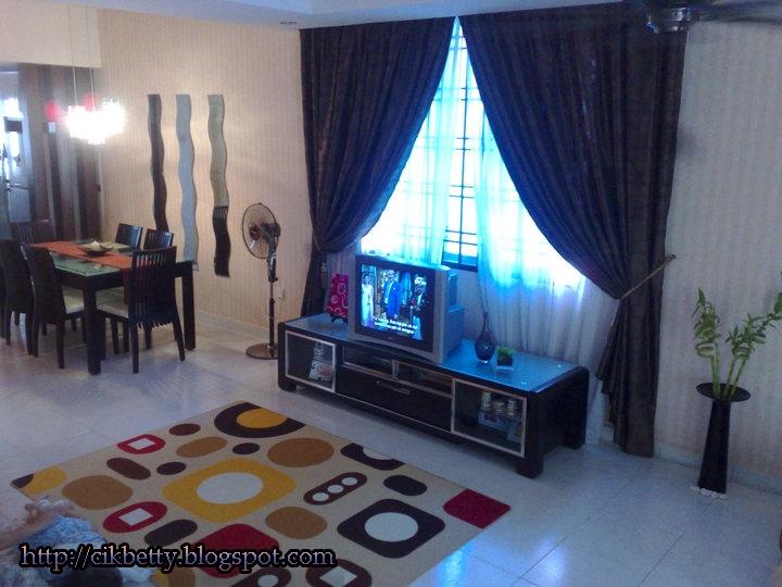 Cara Menghias Rumah Flat http://cikbetty.blogspot.com/2011/02/rumah ...