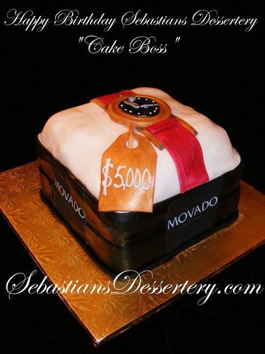 Sebastians Dessertery Cake Boss