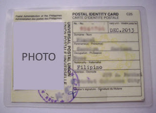 Postal ID with 2 years validity