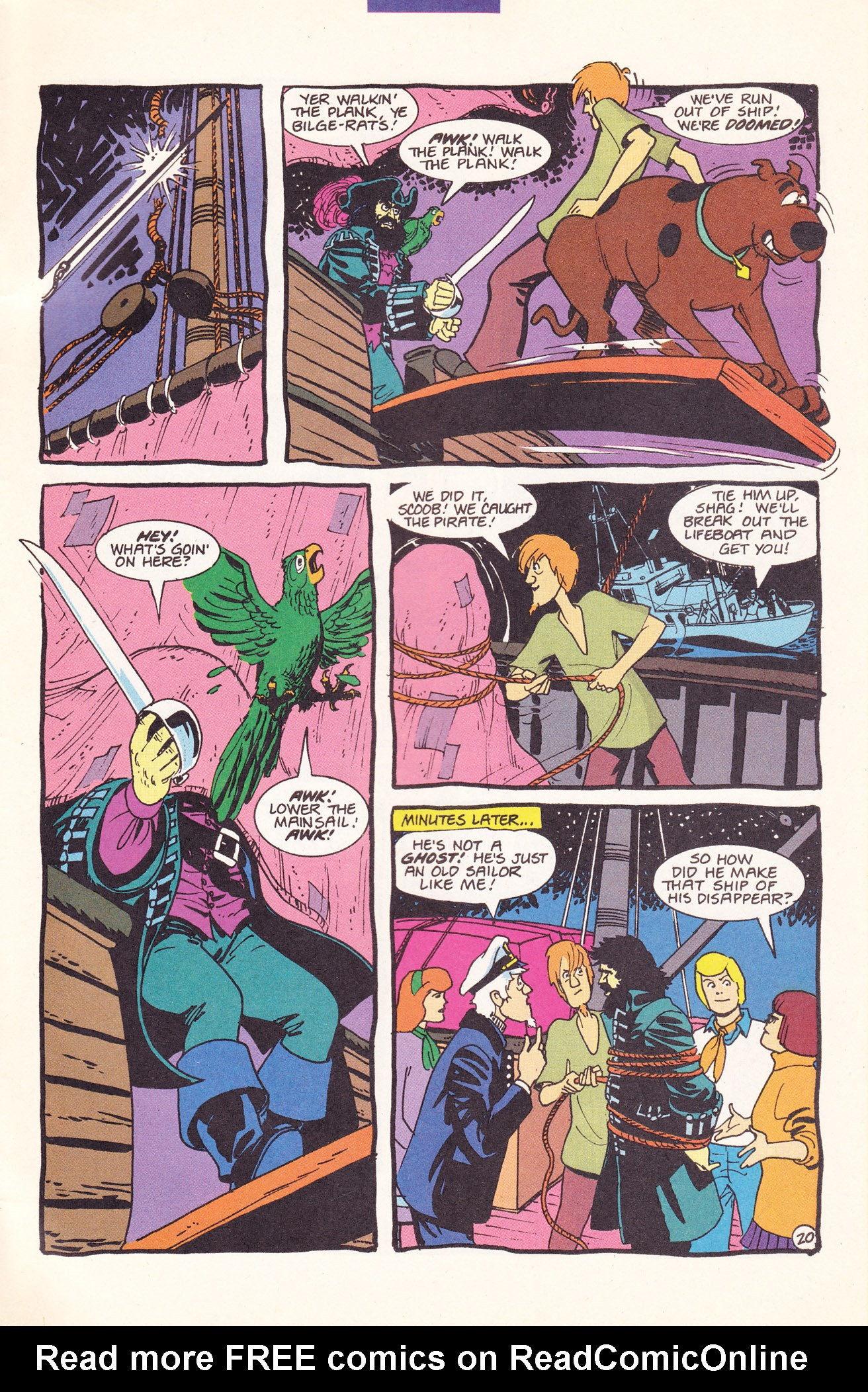 Read online Scooby-Doo (1995) comic -  Issue #17 - 31