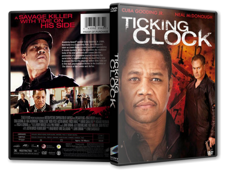 TICKING CLOCK DVD Giveaway. Sony Entertainment has provided me with the