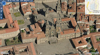 Virtual Earth: Santiago del Compostela - katedra