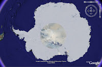 Landsat Image Mosaic Of Antarctica w Google Earth