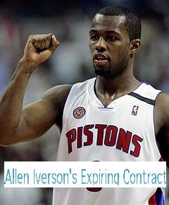 Allen Iverson's Expiring Contract