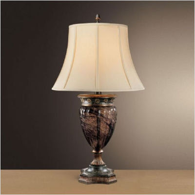 earth toned lamp, formal lamp, home lighting, upgrading your light fixtures
