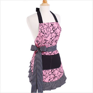 Attractive Kitchen Aprons, Pink Apron