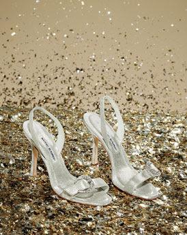 Manolo Blanik, Silver Dress Shoes, Formal Shoes, Silver Heels