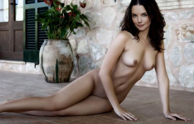 Katie Holmes young and nude