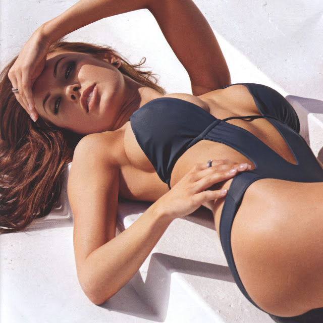 Audrina Patridge sexy bikini hot pokies FHM Australia 2011