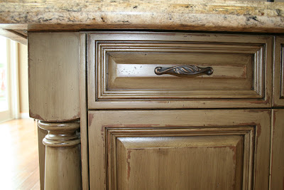 STORMER DECORATIVE FINISHES Chipped Paint Cabinet Finish