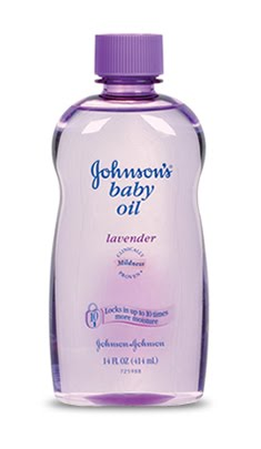 Johnsons baby oil anal