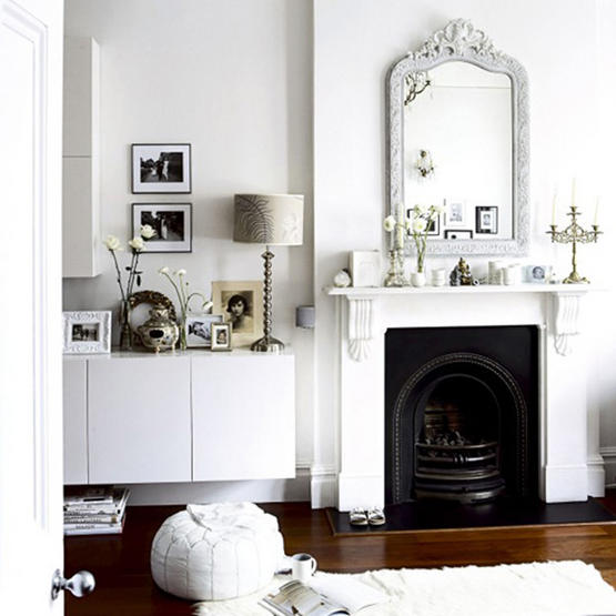 White Living Rooms By Etc