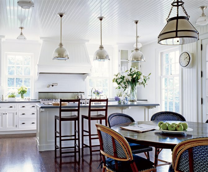 Stockholm Vitt  Interior Design: Nantucket Retreat