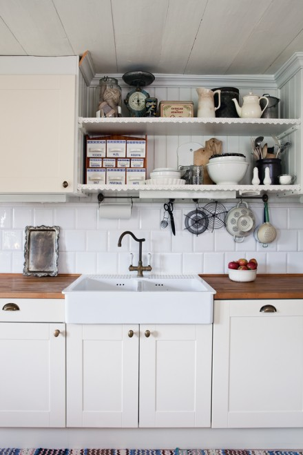 Cottage Keuken Ikea : Small Swedish Cottage Kitchen