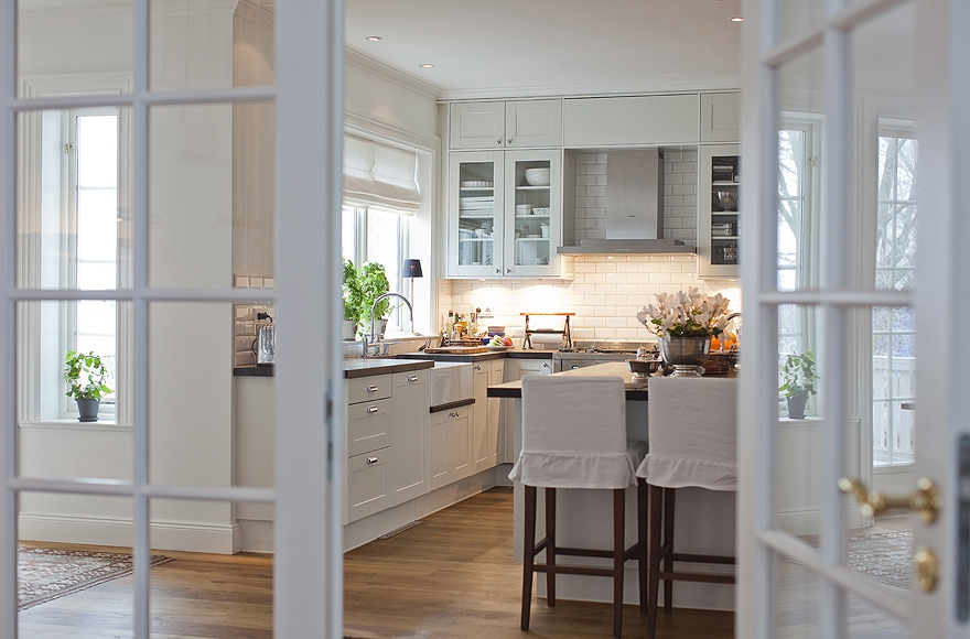 New england style kitchen for New england style homes interiors