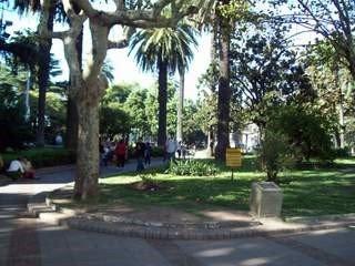 Plaza Central de San Martín