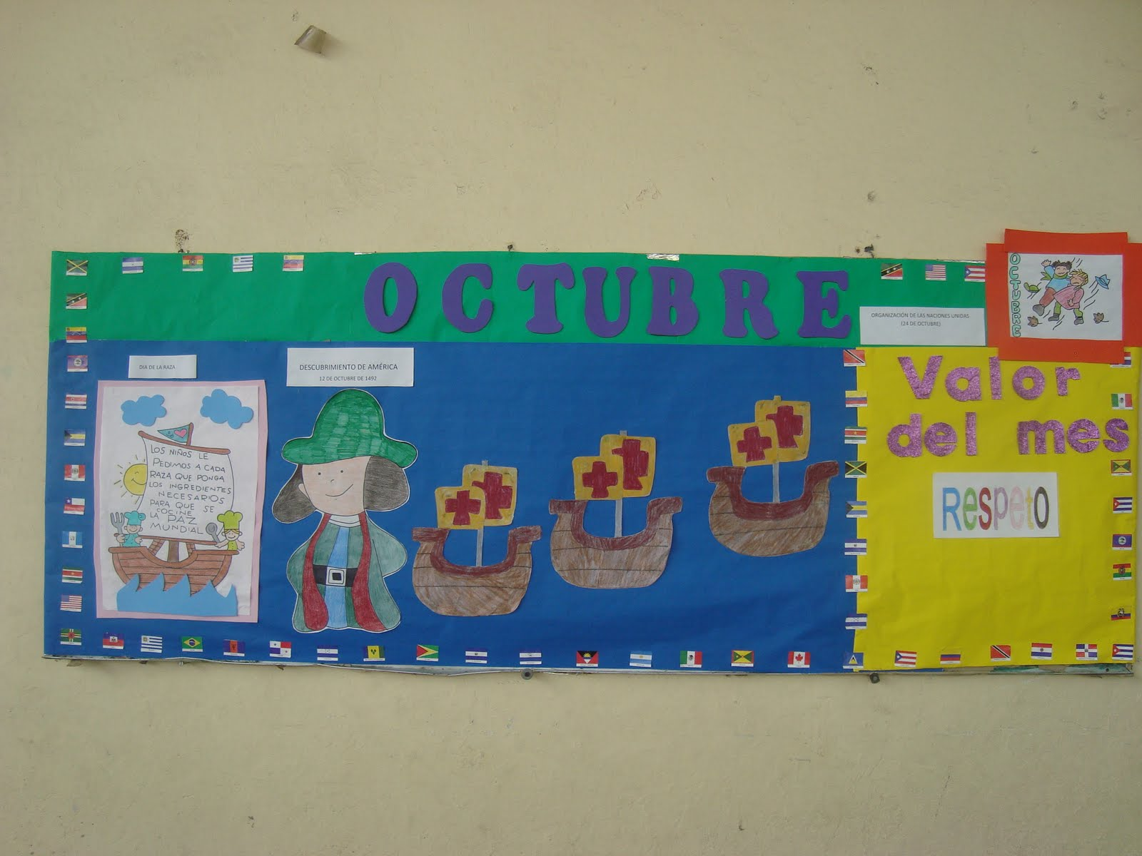 Esc primaria ignacio zaragoza octubre 2010 for El mural aviso de ocasion