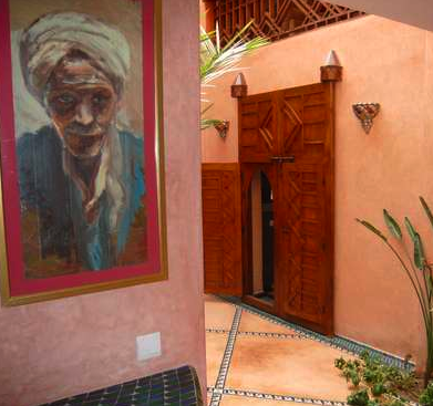 Another Side Of Riad Livin' In Marrakesh