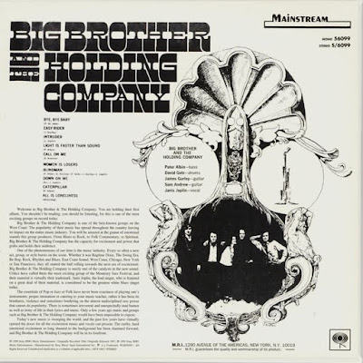Big Brother & The Holding Company - Selftitled (US 1967)