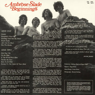 Ambrose Slade - Beginnings (1st Album UK 1970)