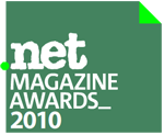 logo for dot net magazine awards 2010