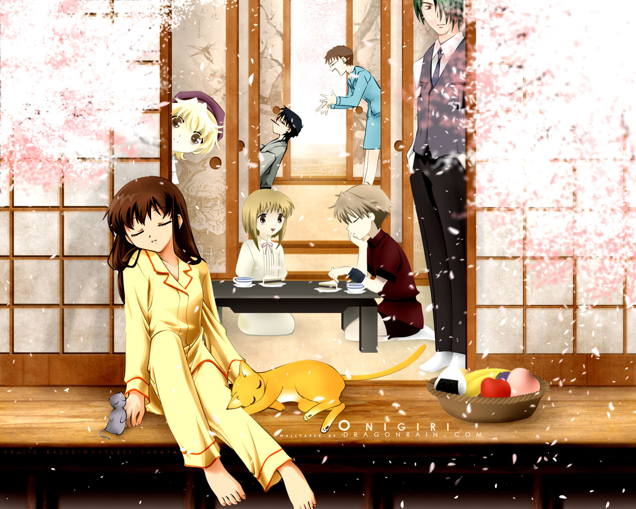 Fruits Basket. It was cute and slow and happy and I thought it was a big ...
