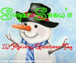 10 Holiday Questions Tag.