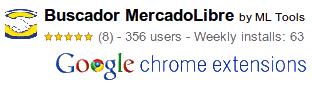 Buscador MercadoLibre para Google Chrome