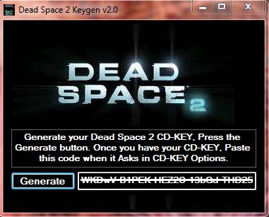 Dead Space 2 Crack and Keygen: Download Dead Space 2 Crack ...
