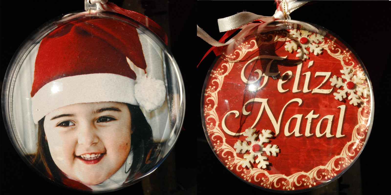 Sandra scrapbooking bolas de natal personalizadas workshop - Bolas de cristal personalizadas ...