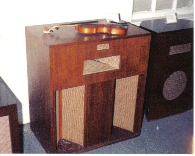 retro vintage modern hi fi klipsch belle prototype. Black Bedroom Furniture Sets. Home Design Ideas