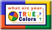 true colors personality  blue