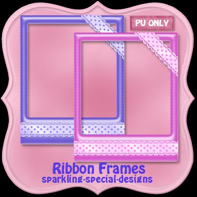 http://sparkling-special-designs.blogspot.com/2009/05/ribbon-frames_14.html