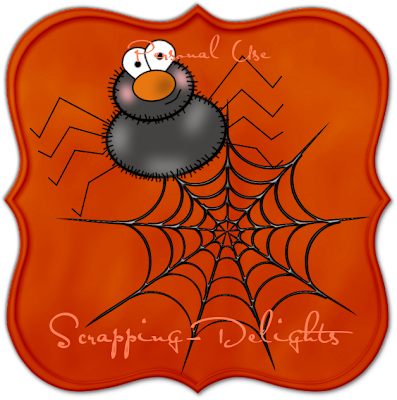 http://scrapping-delights.blogspot.com/2009/09/halloween-spider-web-freebie.html