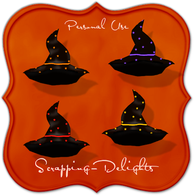 http://scrapping-delights.blogspot.com/2009/09/halloween-witch-hats-freebie.html