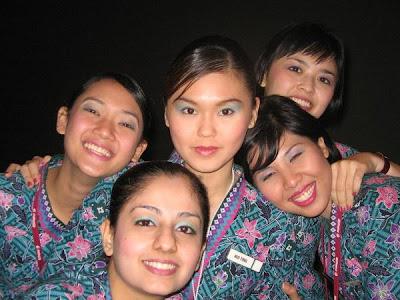 Foto Narsis Pramugari Malaysia Airlines