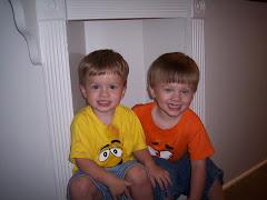 Evan & Adam (25 months)