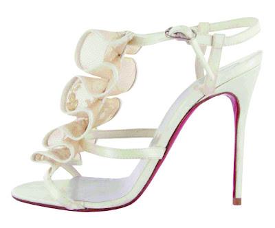 ChristianLouboutin wedding shoe2 - Christian Louboutin Gelin Ayakkab�lar�